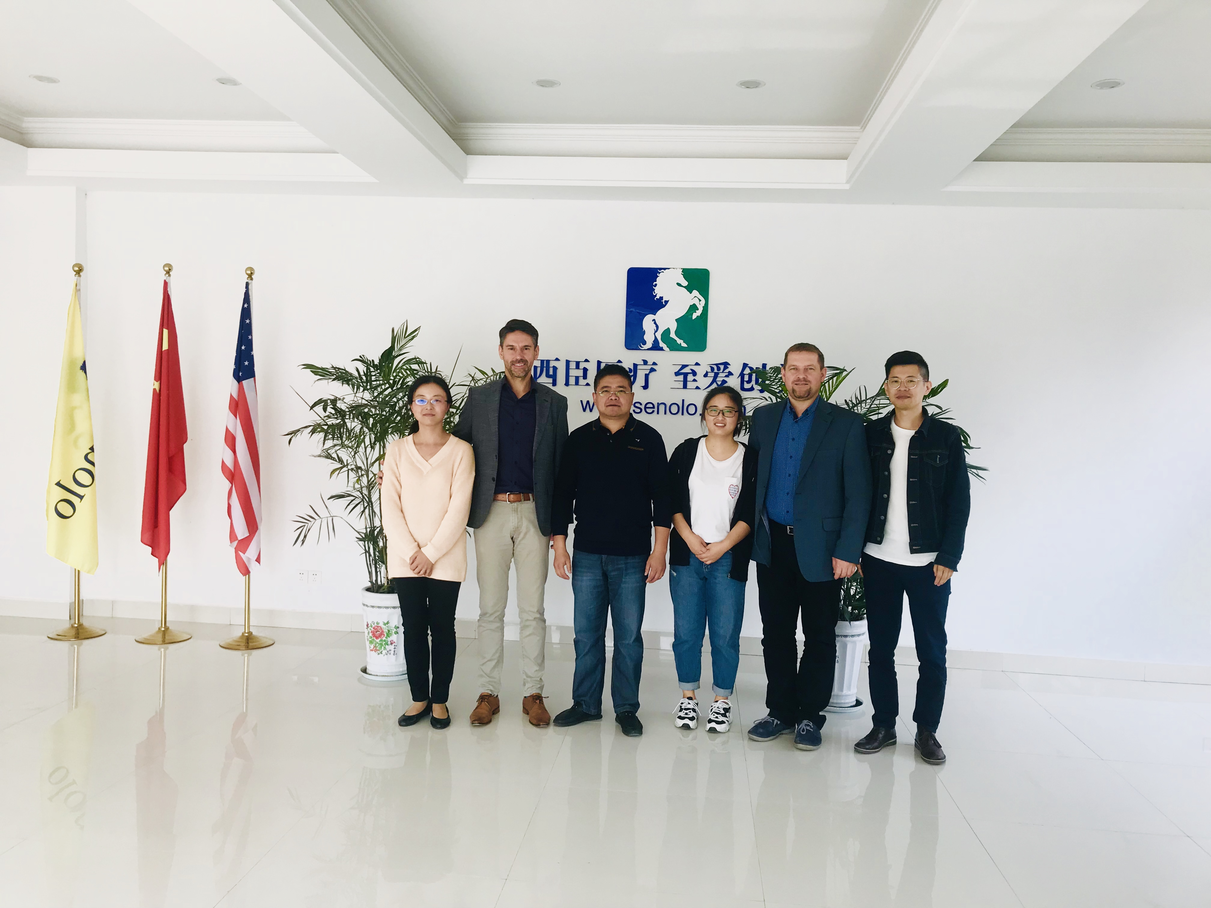 Czech Customers Visit