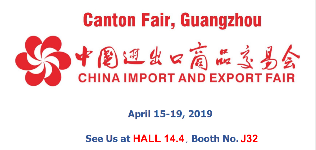 Welcome to 2019 Spring Canton Fair